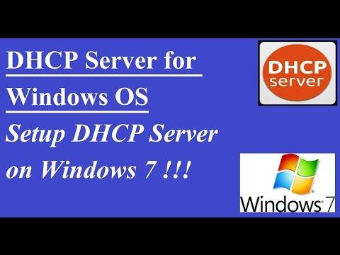 DHCP Server for Windows, Setup DHCP Server on Windows 98,XP, Win7, Win8, Win10 !!!