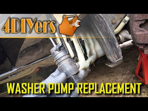DIY: BMW E39 Washer Pump Troubleshooting and Replacement
