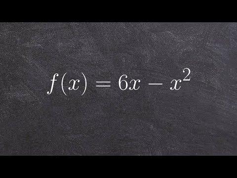 Standard form to vertex form of a quadratic