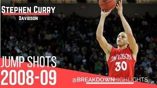159613218f67 Stephen Curry Davidson Final season 2008-09