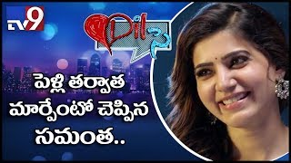 Dil Se - Samantha hearrful interview on films and love life - TV9