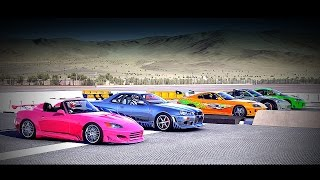 Forza 6: Fast and Furious - Supra, Skyline GT-R, S2000, FAIRLADY Z, ECLIPSE GS | Drag Race