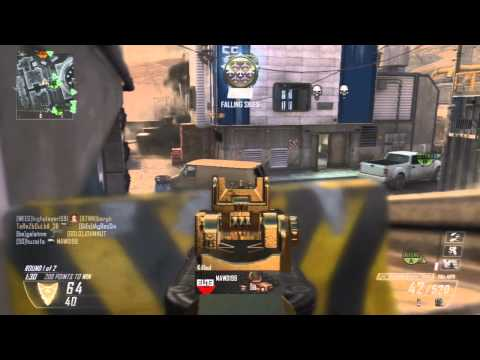 Black Ops 2 :: 100-1 + Nuclear VS Racist | My Best Score EVER!