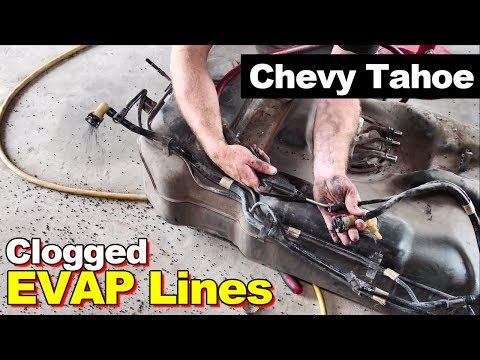 2007 Chevy Tahoe Fuel Filling Slowly PART 2 Clogged Vent Lines