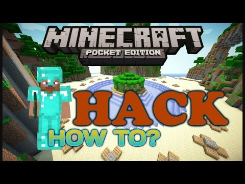 How to hack full diamond gear in survival games - minecraft pe (tutorial)(android)