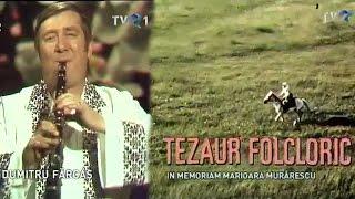 Genericul emisiunii Tezaur Folcloric şi povestea lui spusă de Marioara Murărescu