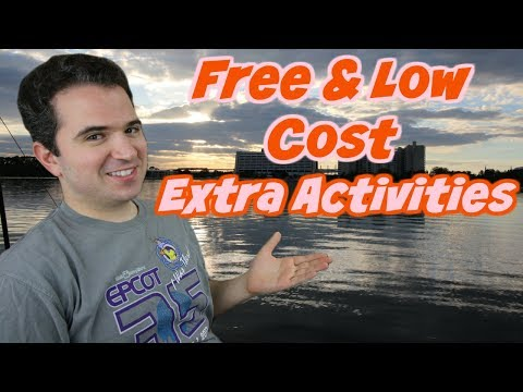 Free and Low Cost Extra Activites at Walt Disney World 💵