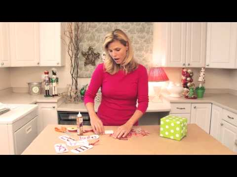 How to Make Your Own Christmas Gift Tags