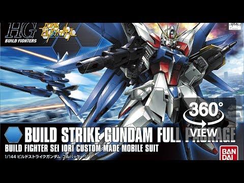 [360°Degree] HG 1/144 Build Strike Full Package