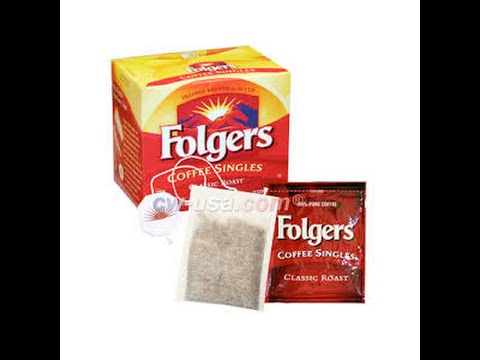 Folgers Coffee Singles Review