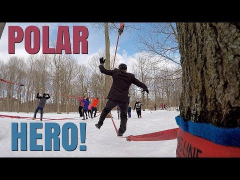 THE GIVEAWAY OBSTACLE! POLAR HERO 2018!!!