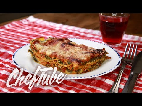 How to Make Spinach Lasagna - Recipe in description