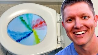 The Truth About Toilet Swirl - Northern Hemisphere