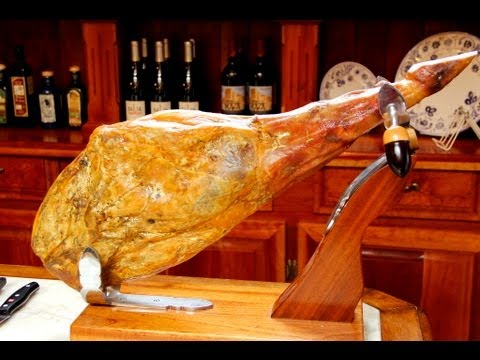 How to Slice a Whole Jamón