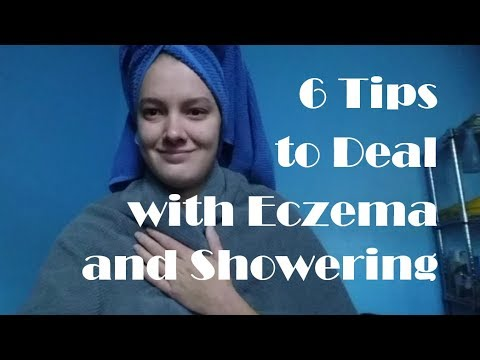 How I Shower/Bathe with Eczema // Tips to Cope with Sensitive Skin