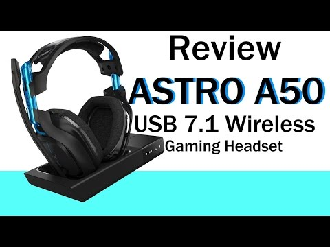 ASTRO A50 7.1 Wireless Gaming Headset Review Astro A50 Model 2016 Deutsch
