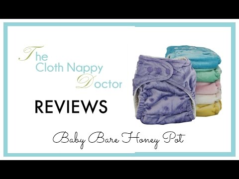 Baby Bare Honey Pot Fitted Cloth Nappy Review