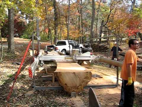 Milling A Big White Oak Log (Part 3)
