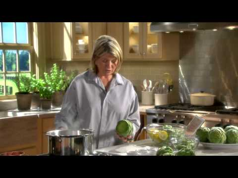 Preparing Artichokes - Martha Stewart's Cooking School