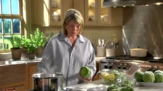 Preparing Artichokes Martha Stewart S Cooking School