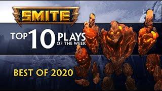 SMITE - Top 10 Plays - Best of 2020