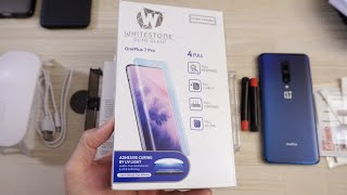 OnePlus 7 Pro Whitestone Dome! Best Tempered Glass!