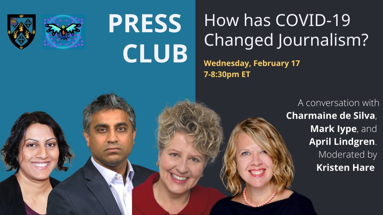 Massey College Press Club: How has COVID-19 Changed Journalism?