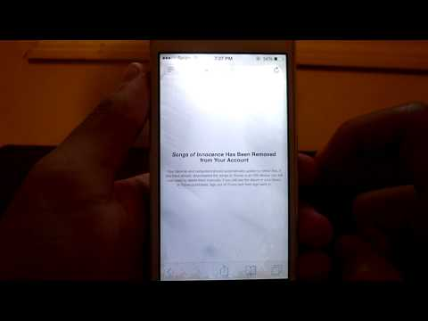 How to Delete The U2 Songs of Innocence from Your iPhone NO Jailbreak!( Free Song