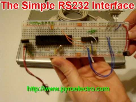 Build A Simple RS232 Laptop interface
