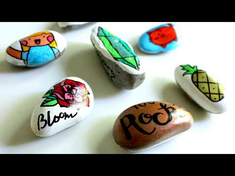 How To Decorate Rocks