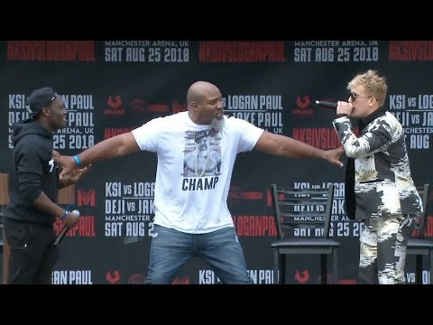 [FULL VIDEO] DEJI VS. JAKE PAUL PRESS CONFERENCE! **insanity**