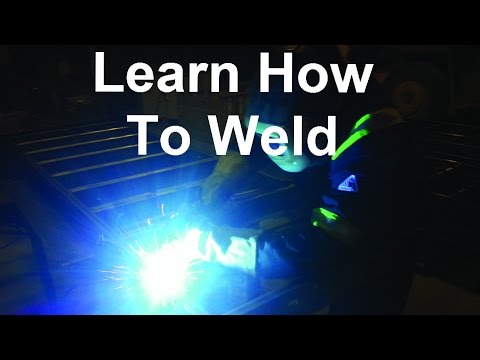 Learn How To Weld Using A No Gas MIG Welder To Make Awesome Welding Projects And Amaze Your Friends!