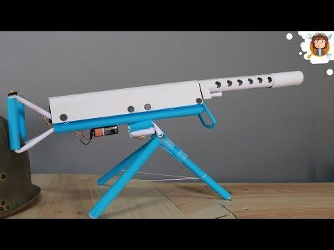How to Make a Paper Machine Gun That Sh00ts