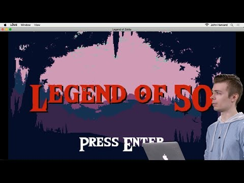 Legend of Zelda - Lecture 5 - CS50's Introduction to Game Development