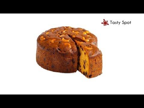 Plum Cake In Pressure Cooker/Recipe In Malayalam / Christmas Fruit Cake Recipe - Recipe# 70