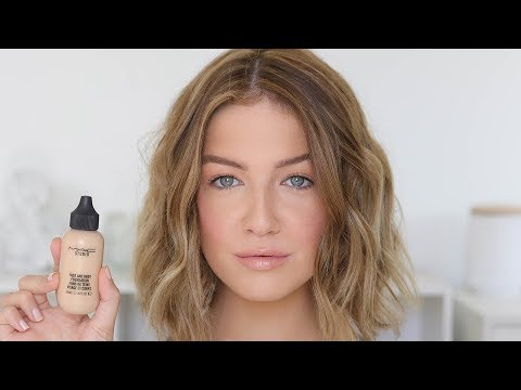 HOW I USE MAC FACE & BODY FOR NATURAL & FLAWLESS SKIN | Shelbey Wilson