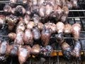 Bizarre Foods - Grilled Chicken Hearts