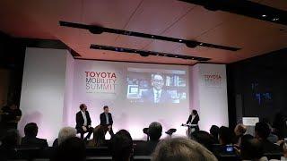Akio Toyoda addresses Toyota Global Mobility Summit in Athens