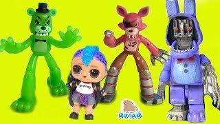 Download #ФНАФ! Мангл спасатель Куклы Лол Панки FNAF Видео для детей! Мультики с игрушками - My Toys Potap Video