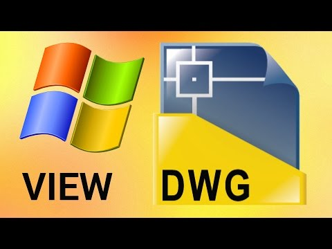 How to View DWG files
