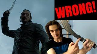 Game of Thrones MISTAKE! - Bronn's kukri knife