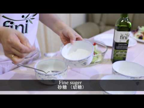 Fini Extra Virgin Olive Oil / Fruit Salad / Vege Salad
