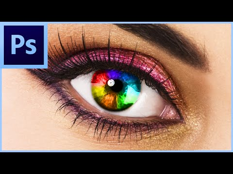 Adobe Photoshop CS6/CC: How To Change Eye Colour