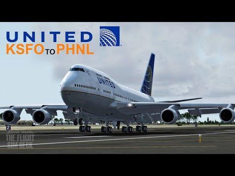 Prepar3D v4 | United 747 Farewell Flight | PMDG 747-400