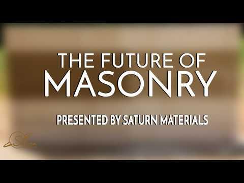 Saturn Materials - The Future of Masonry