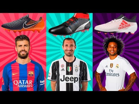 Top 30 Defenders And Their Boots II 2018 II