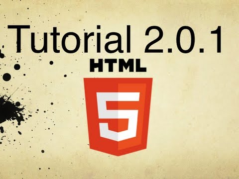 HTML5 Tutorial 2.0.1   How to Create a Hypertext Link