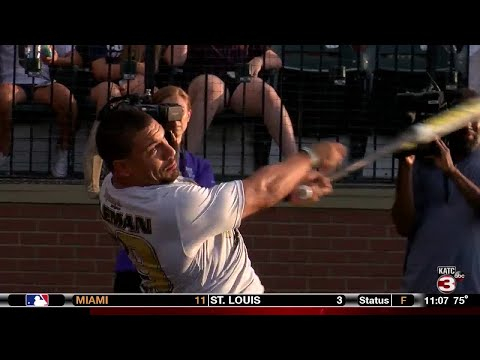 Saints' Black & Gold softball game