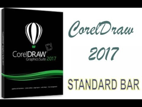 COREL DRAW 2017 STANDARD BAR & PAGE SETTINGS HINDI URDU PART 45