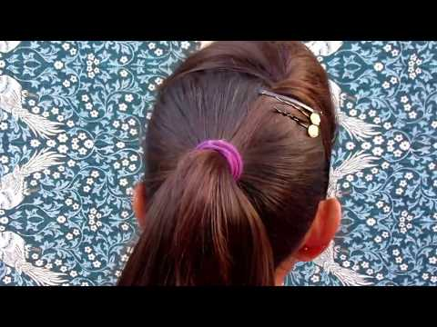 STYLISH PONITAIL HAIRSTYLE || COLLAGE GIRLS HAIRSTYLE